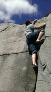 Rock Climbing Photo: Time to top it out