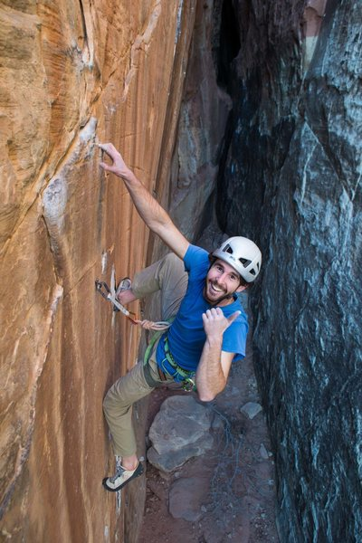 Rock Climbing Photo: Having a blast on the Sound of Power - Photo by Th...