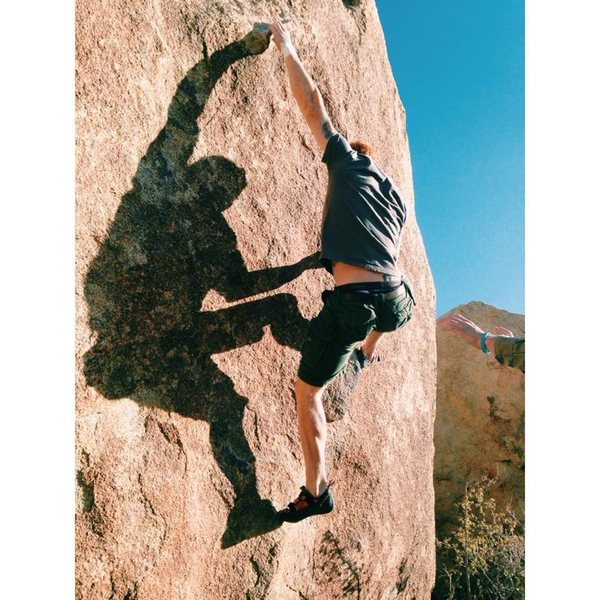 Rock Climbing Photo: out at Jtree