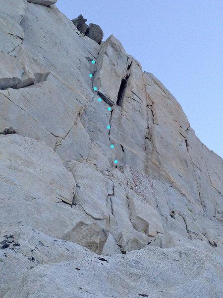 Rock Climbing Photo: Living the Dream 5.8