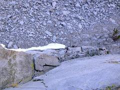 Rock Climbing Photo: The Gazelle following 'Living the Dream' 5.8