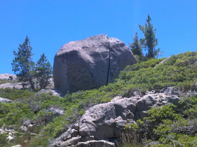 Splitter Boulder