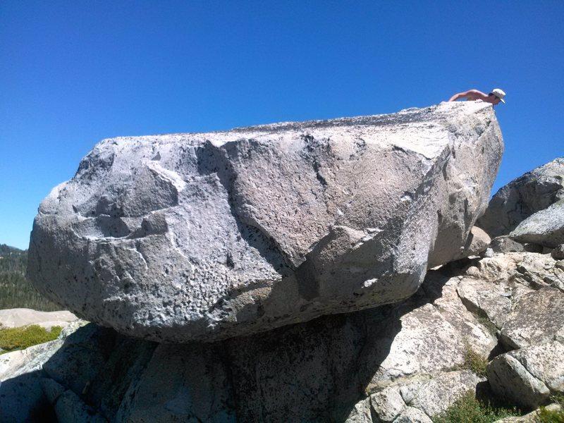 Flying Saucer Boulder