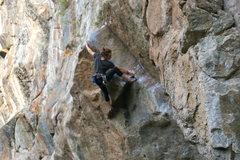 Rock Climbing Photo: Gabi Masse cruising.