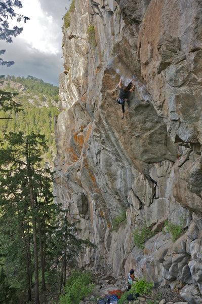 Rock Climbing Photo: Gabi and Alex.