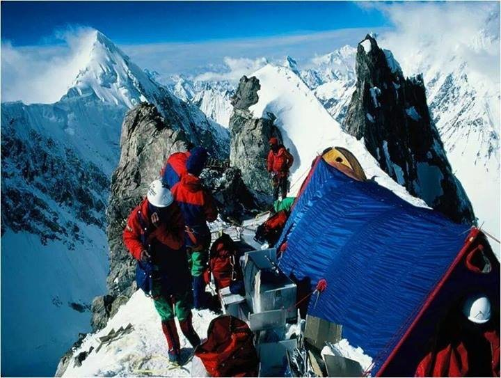 Rock Climbing Photo: Mystery Tent