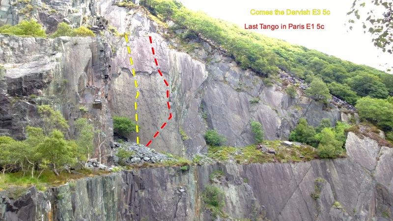 Rock Climbing Photo: Vivian Quarry - Dervish level