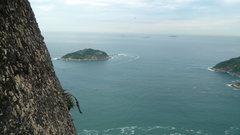 Rock Climbing Photo: 2nd anchor. Opposite view.