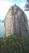 Rock Climbing Photo: The mountain on the descent via the cable car.