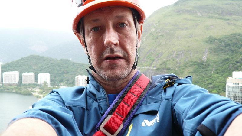 Rock Climbing Photo: That's me.