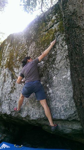 Rock Climbing Photo: The Slot Problem