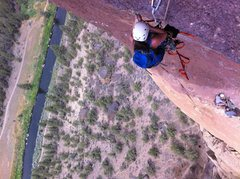 Rock Climbing Photo: Pioneer Route, Smith Rock OR