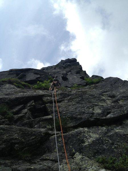 Rock Climbing Photo: Northeast Ridge of the Pinnacle, Mt Washington