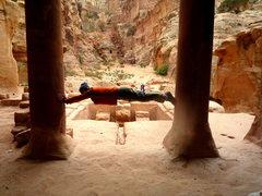 Rock Climbing Photo: Petra - Jordan