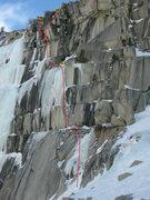 Rock Climbing Photo: Heel Toe, Ramp Start.