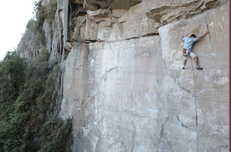 Rock Climbing Photo: Suesca Colombia el techo del colera.