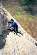Rock Climbing Photo: Sundial, Looking Glass Mt, NC