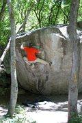 Rock Climbing Photo: Feelin it