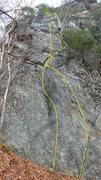 Rock Climbing Photo: Keelin's Delight/Dilemma