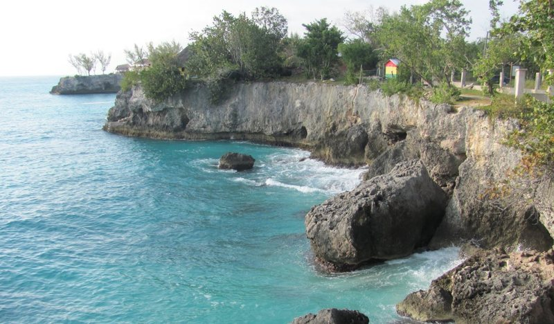 Rock Climbing Photo: The Cliffs, Negril — from Google Maps