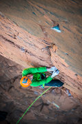 Rock Climbing Photo: Pretending there is gear on Fractal Universe.  ken...