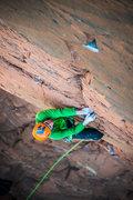 Rock Climbing Photo: Pretending there is gear on Fractal Universe.  ken...