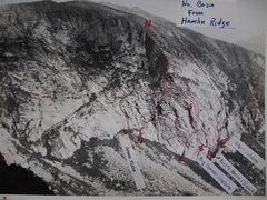 """Rock Climbing Photo: North Basin Mt Katahdin from Hamlin Ridge.  """"..."""