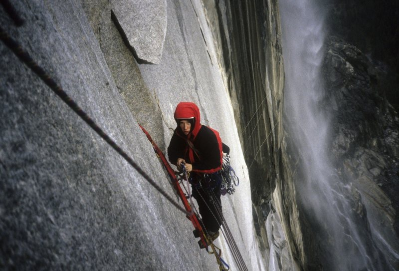 Rock Climbing Photo: Winter ascent of El Cap