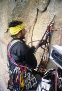 Rock Climbing Photo: Hanging Belay