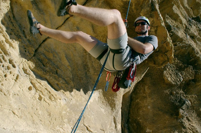 Rock Climbing Photo: Rappelling Xenophobe @ Smith