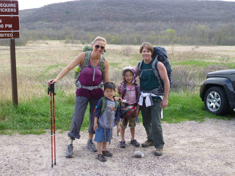 Rock Climbing Photo: with the fam