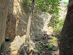 Rock Climbing Photo: I believe this is the main location within Secret ...
