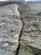 Rock Climbing Photo: Pebbles.