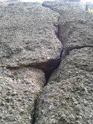 Rock Climbing Photo: Margies Curves Left.