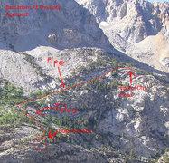 Rock Climbing Photo: Ellery Lake approach photo