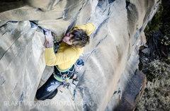 Rock Climbing Photo: J.Snyder on FA of Moonrise Kingdom.   blakemccordp...
