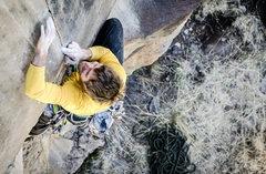Rock Climbing Photo: J.Snyder on the tips shield.  blakemccordphotograp...