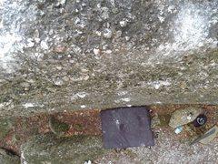 Rock Climbing Photo: Looking down Spade.