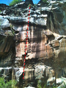 Rock Climbing Photo: Billy the Kid. The White Wall
