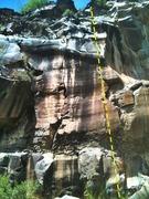 Rock Climbing Photo: Hocus Focus. The White Wall