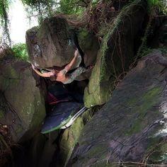 Rock Climbing Photo: Justin Ridgely on Rise