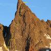 Southeast Face, Clyde Minaret.