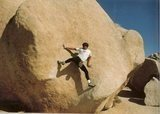 Rock Climbing Photo: Stem Gem backwards, AKA MEGMETS, Very early ascent...