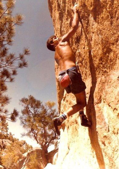 Rock Climbing Photo: Pathfinder Ranch Climbing Rock. Happy Camper V-4, ...