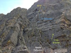 Rock Climbing Photo: WTF on Hallets