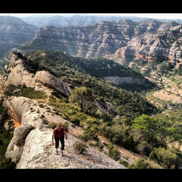 Rock Climbing Photo: Great hiking and views on a rest day in Parc Natur...