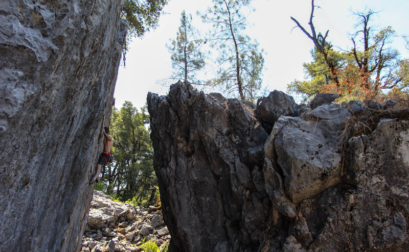 Rock Climbing Photo: Space Sluts 12a