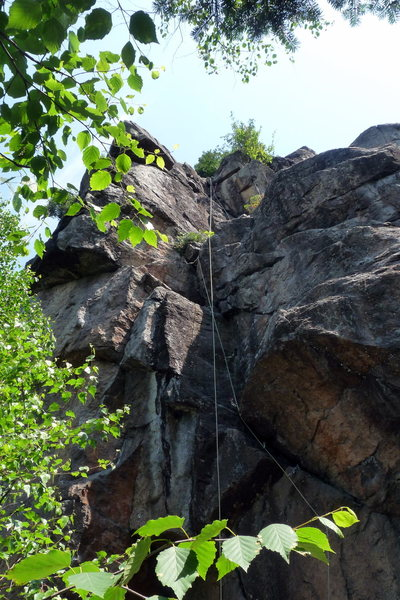 Rock Climbing Photo: In all its glory