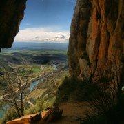 Rock Climbing Photo: Looking toward Camarasa from Cova del Tabac.