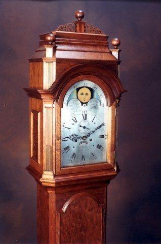 Ellicott Style Tall Clock